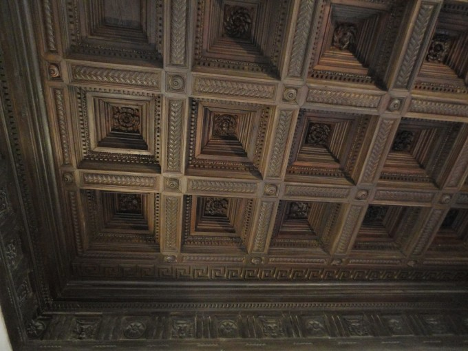 Amazing Vaulted Coffered Ceiling Designs With Beutiful Ornament For Wonderful Ceiling Ideas