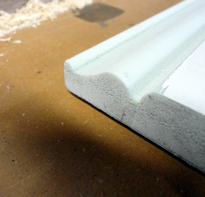 Baseboard Molding Unfitted Yet