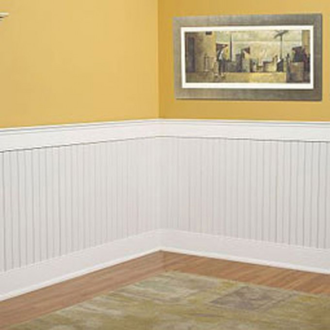 Best Beadboard Wainscoting Ideas With Picture On Yellow Wall And Lovely Floor
