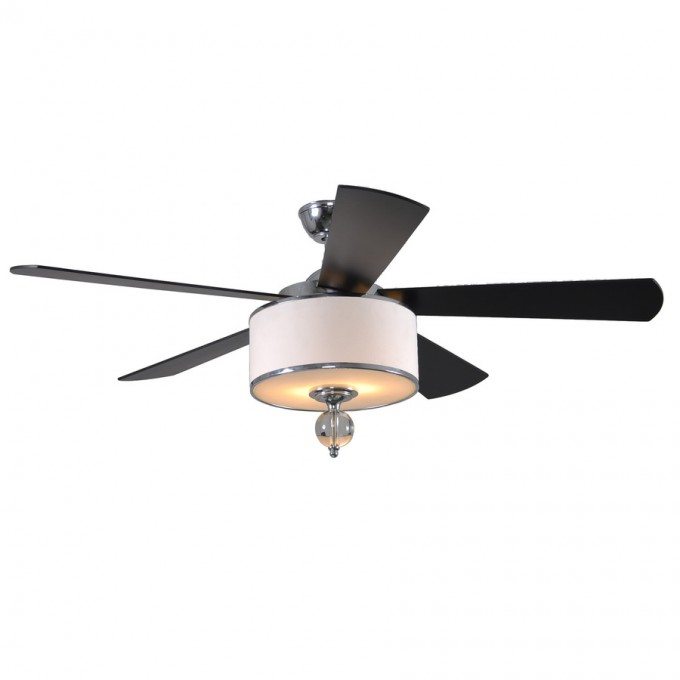 Black And White Lowes Ceiling Fans With Elegant Design Lamp