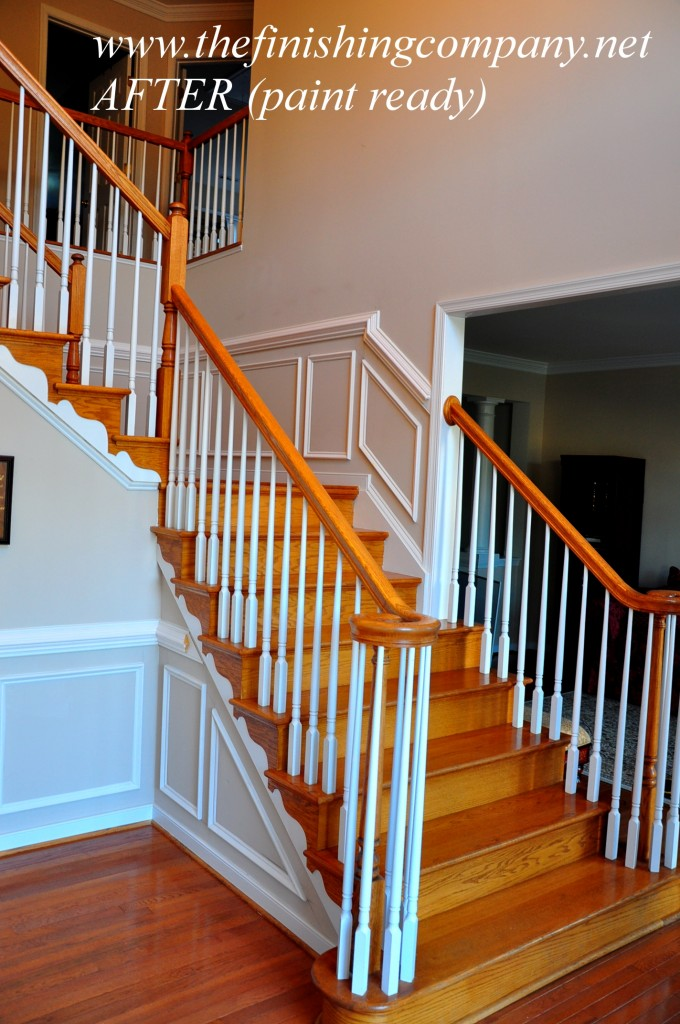 Charming Wainscoting Ideas With Wooden Stairs For Home Interior Design Ideas