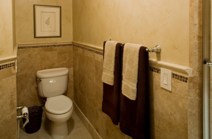 Choosing Wainscoting Ideas With Towel Holder For Bathroom Design Ideas