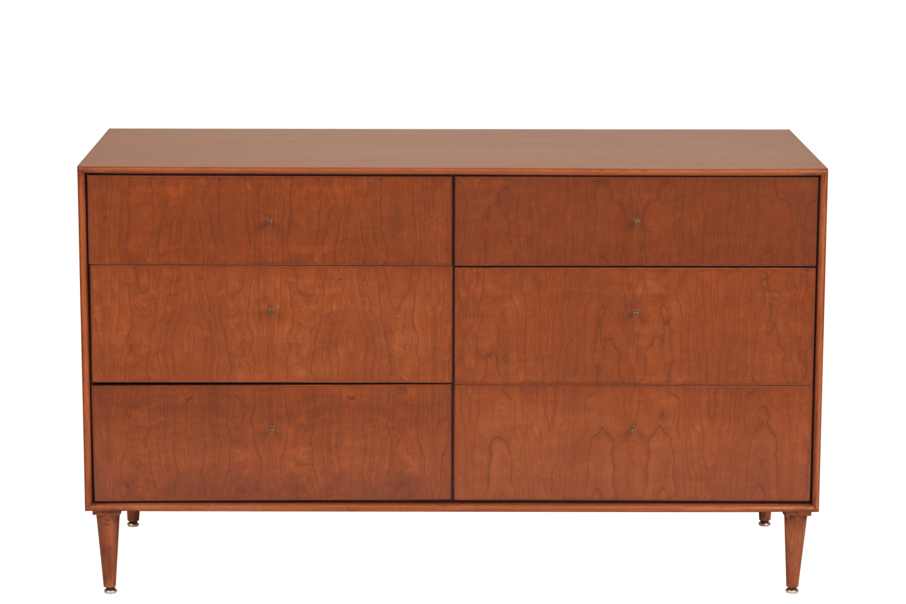 cool modern Mid century Dresser in brown without leg