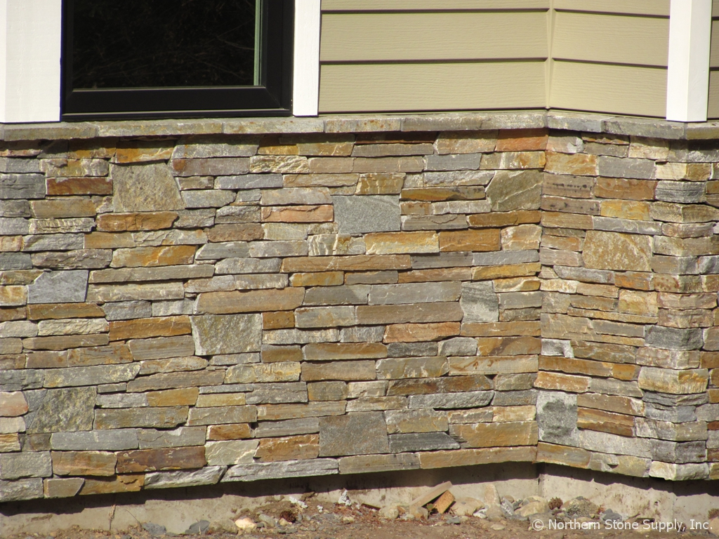 Exterior Design: Stone Veneer Panels For Wall Ideas