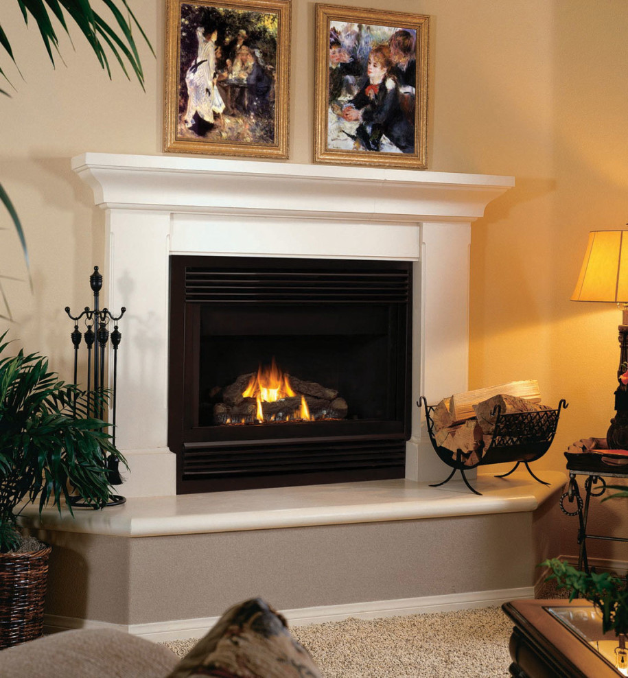 Fascinating Fireplace Mantel Kits Design for Your Heartwarming living room ideas
