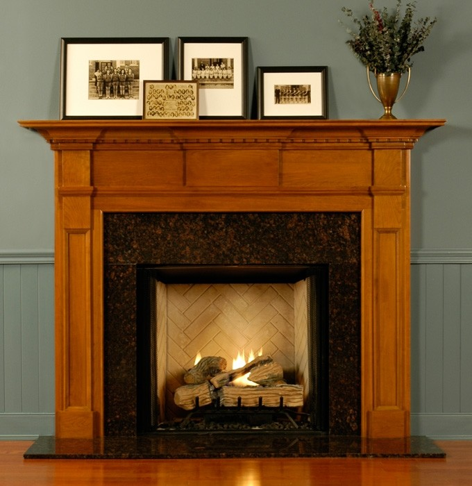 Ideas Amp Tips Amazing Fireplace Mantel Kits For Heatwarming Home Ventnortourism