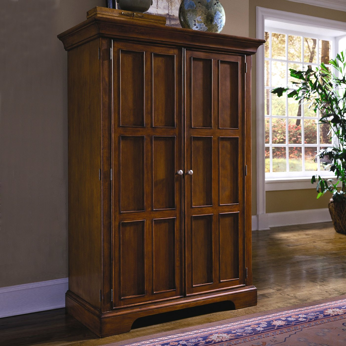 Furniture Computer Armoire For Simple Home Office
