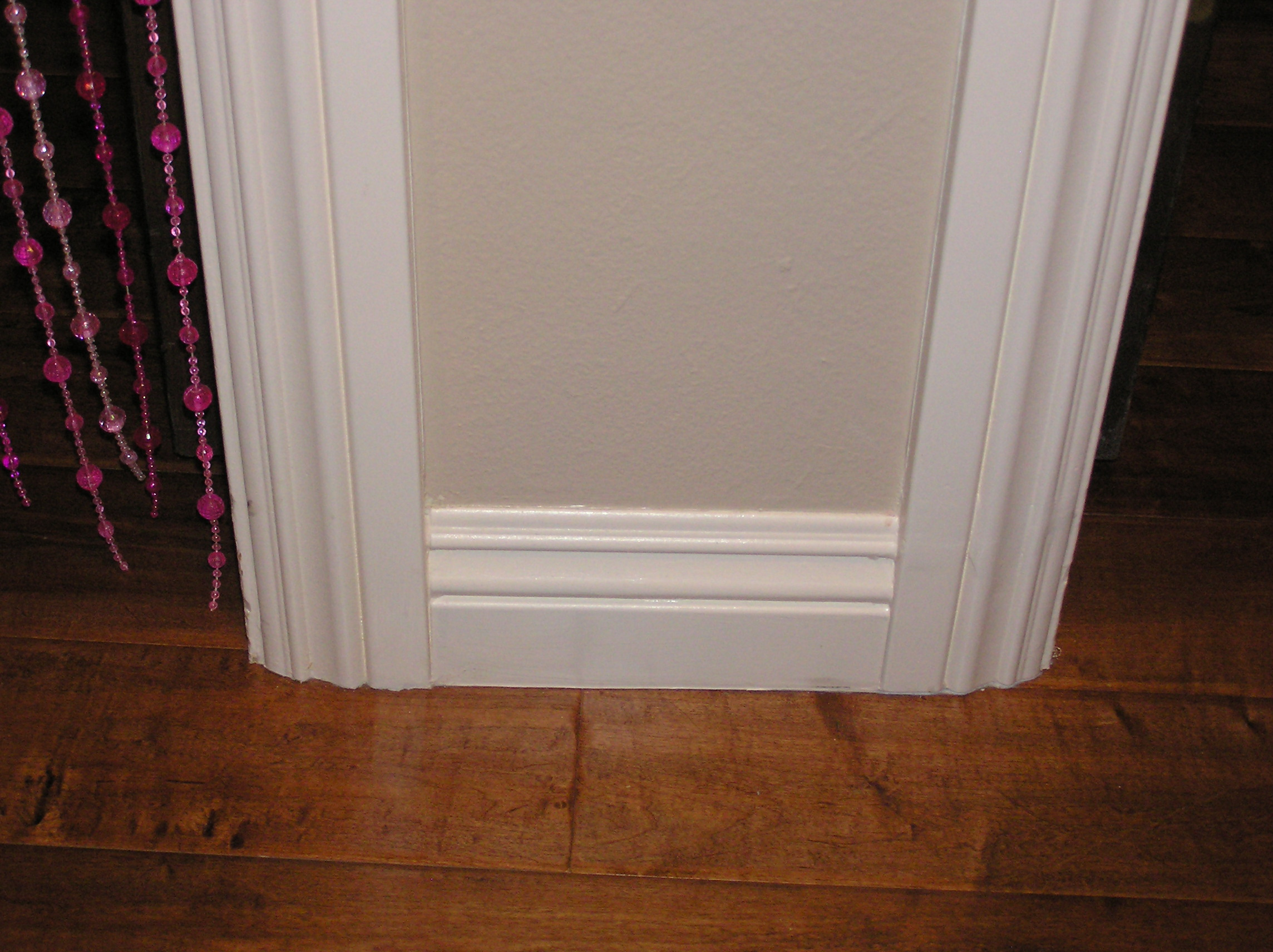 inspiring baseboard Molding as door sills