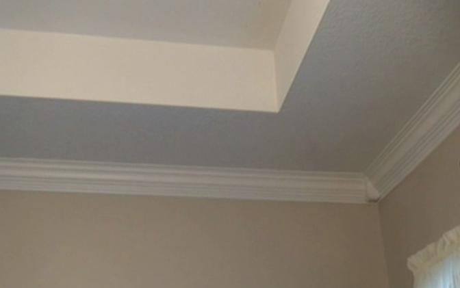 inspiring white baseboard molding for ceiling