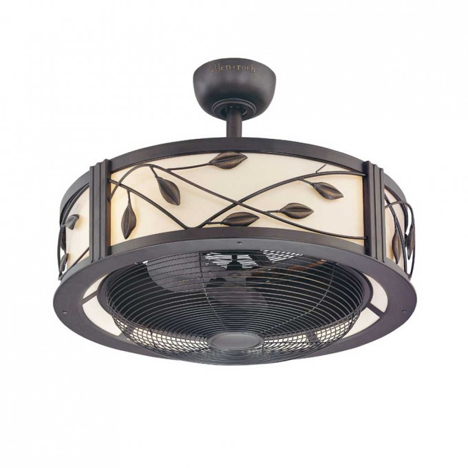 Install Multiple Vintage Lowes Ceiling Fans With Leaf Touching Ornament