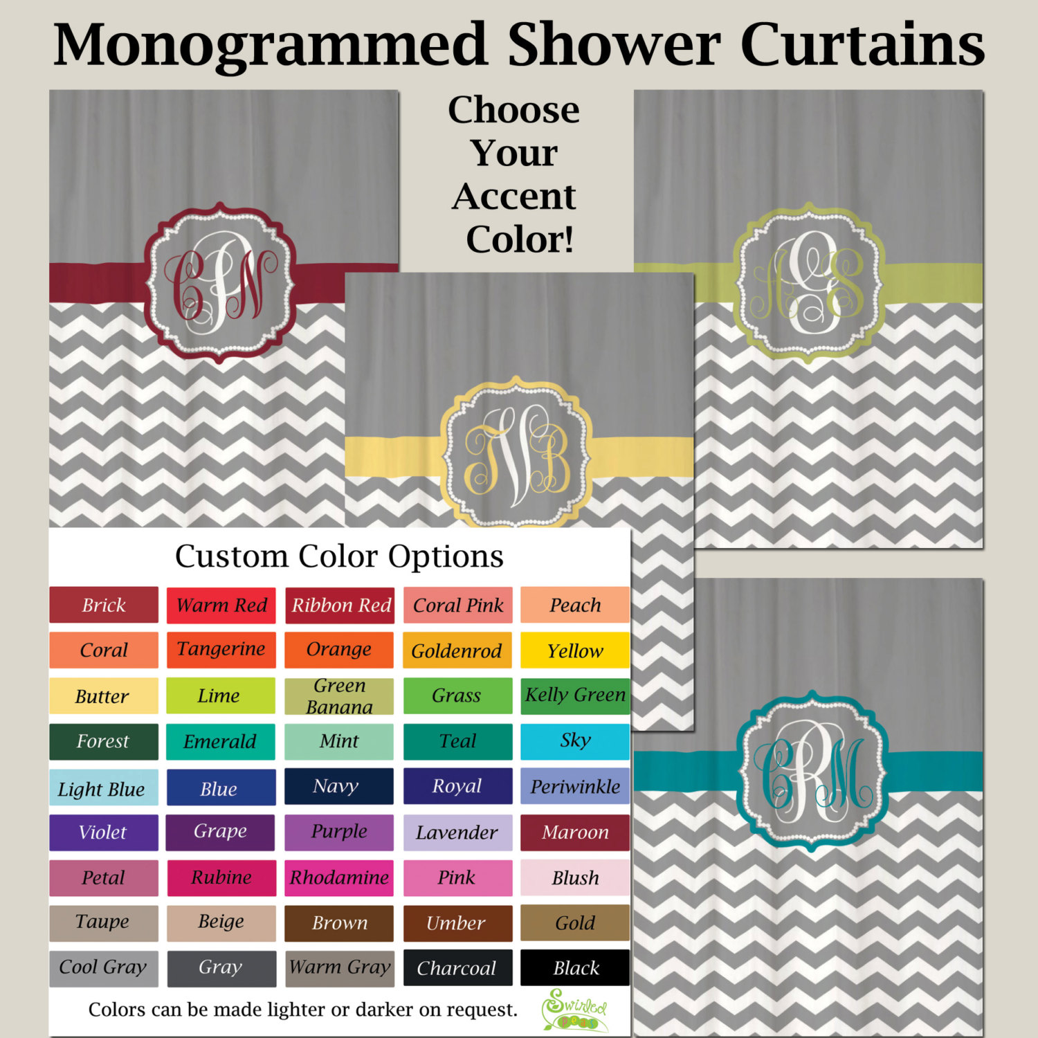 Interior & Decoration Selecting Chevron Curtains Design And Color