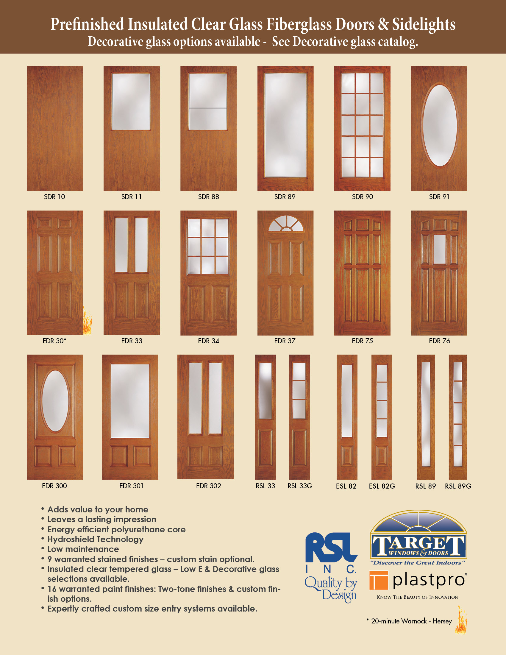 Kinds Of Entry Door With Sidelights