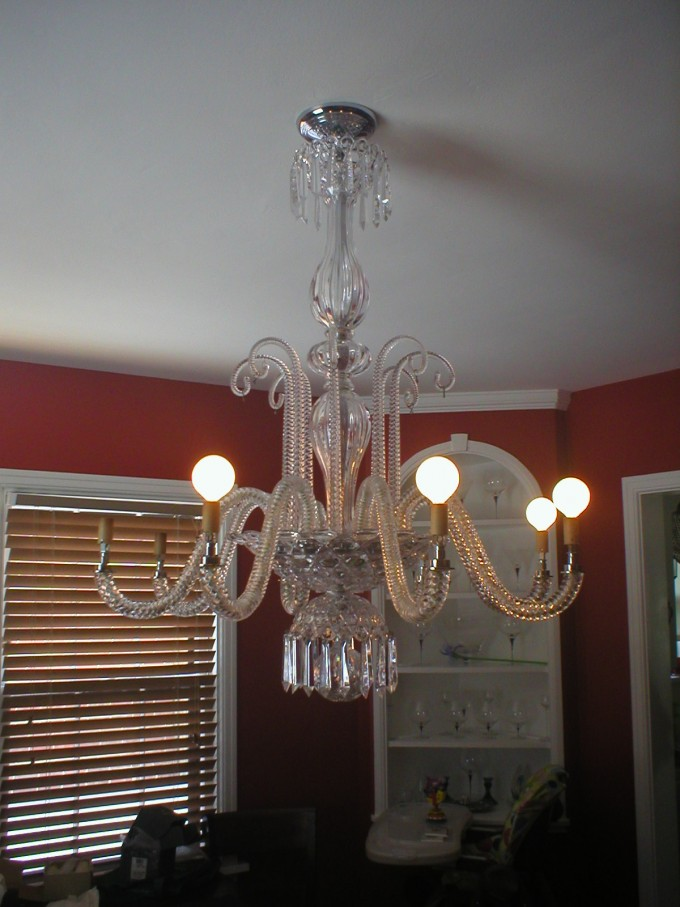 Lowes Ceiling Fans With Lamps On White Ceiling Plus Red Wall