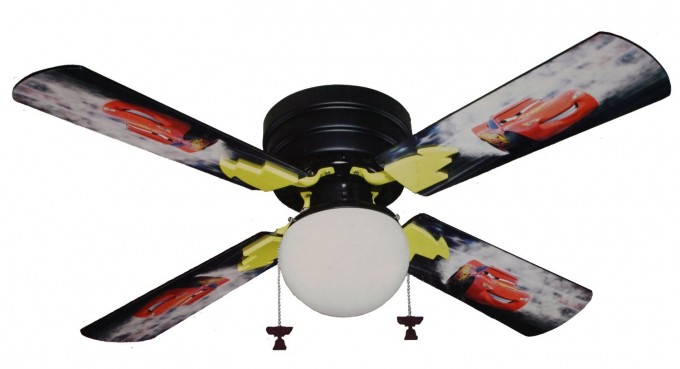 Lowes Ceiling Fans With Picture Of Disney Pixar Cars Lightning McQueen For Children Room