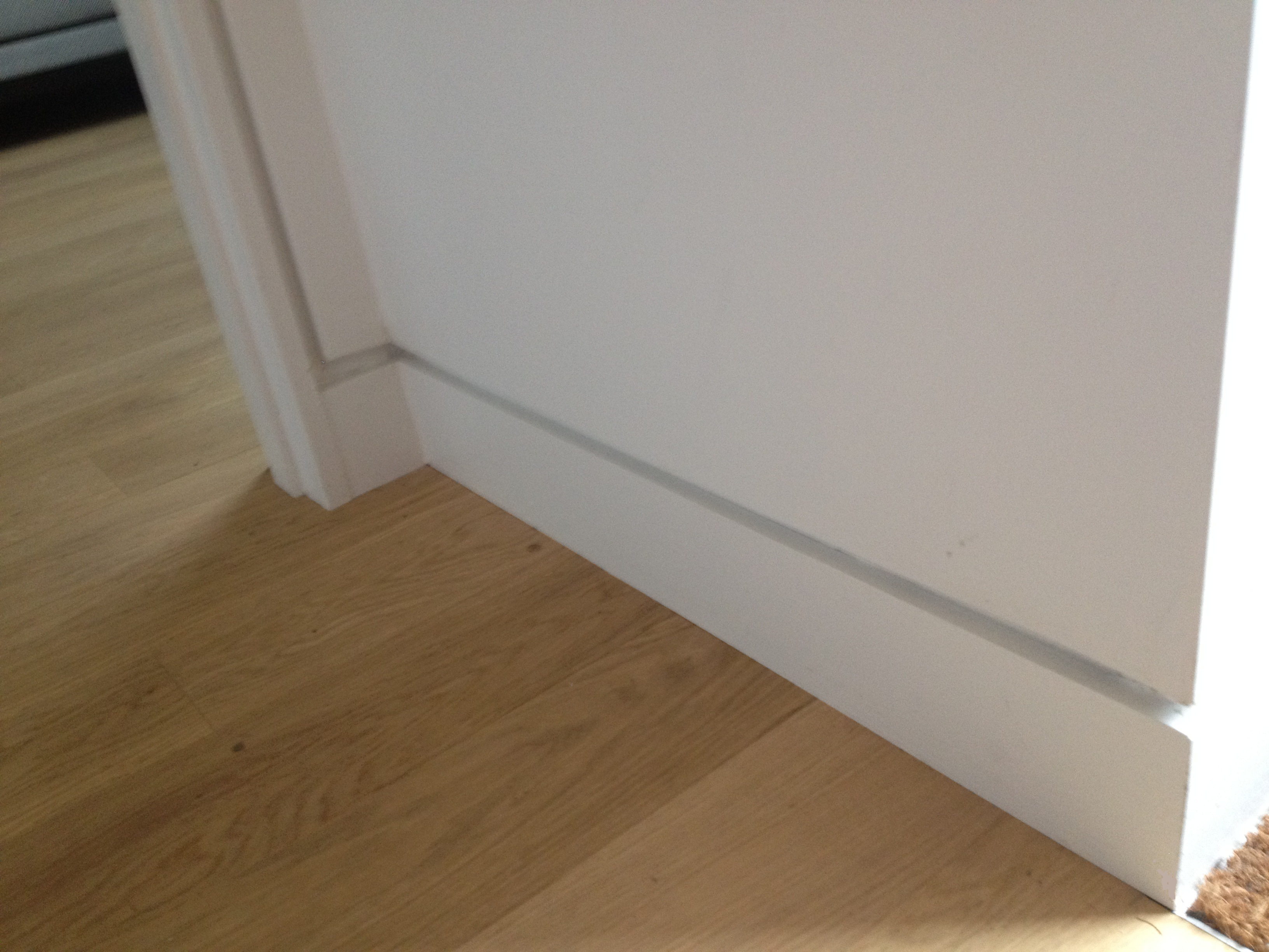 Modern Baseboard molding for modern home interior design ideas