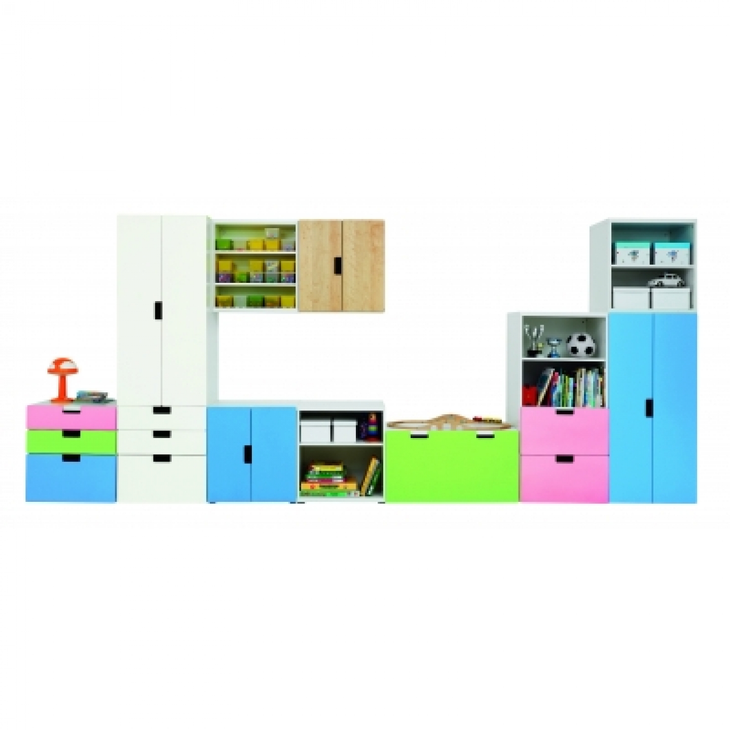 Furniture: Make A Pretty Kids Room With Smart Ikea Toy Storage ...