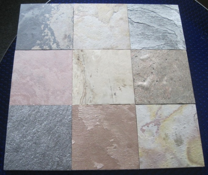 Option Motif And Color Of Stone Veneer Panels