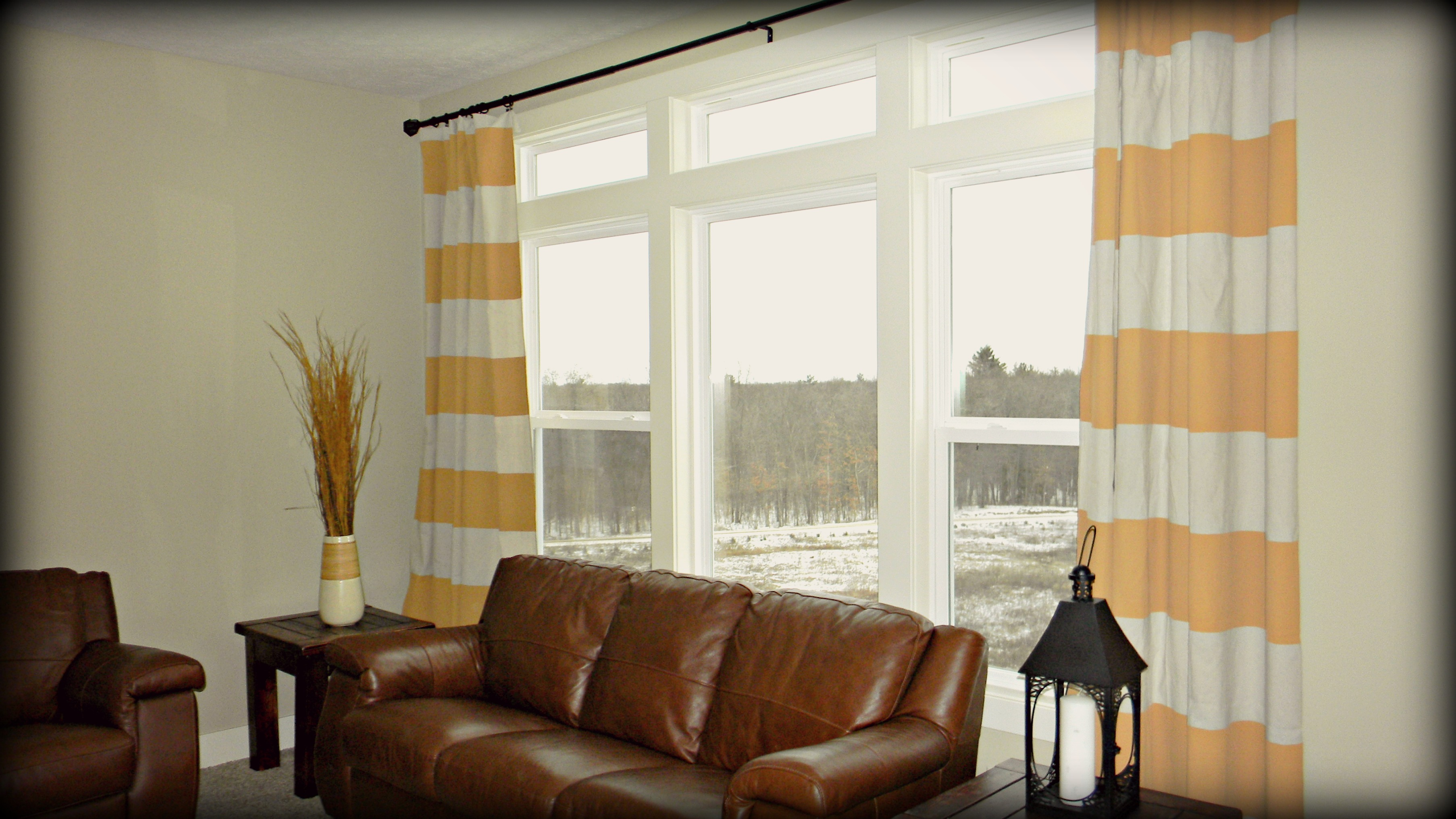 Ideas Tips Amazing Black And White Horizontal Striped Curtains