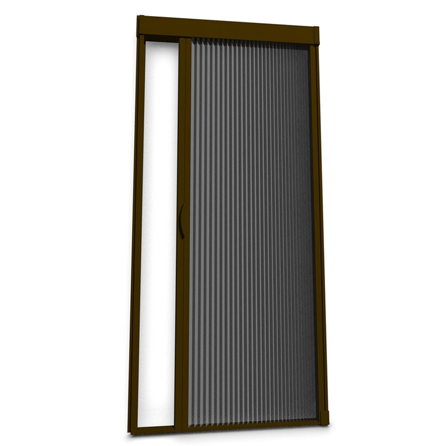 Retractable Screen Doors with black holder