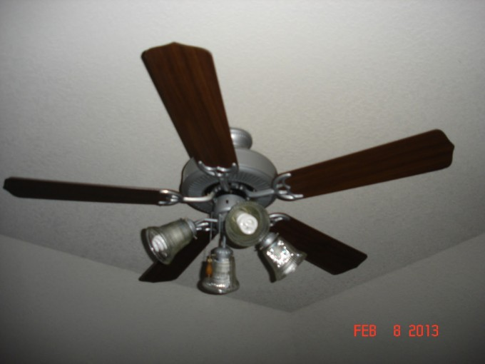 Simple Design Wonderful Lowes Ceiling Fans With Four Lamps On Glass Covered