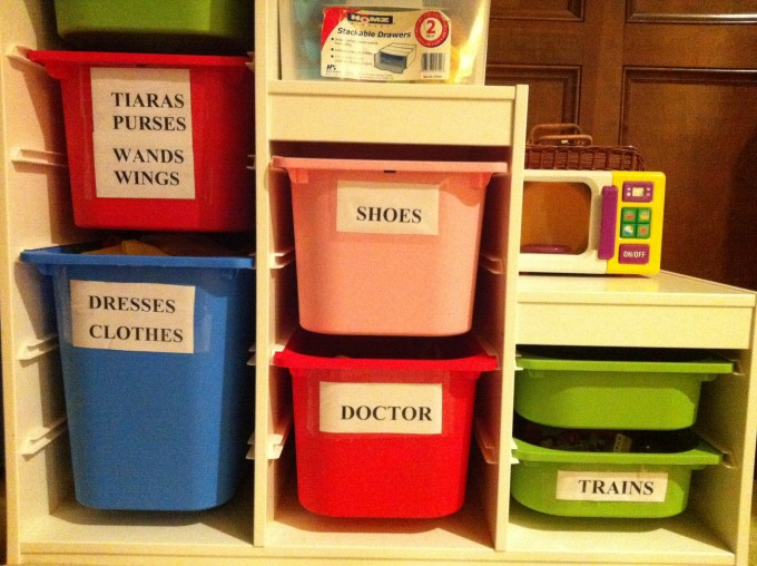 Smart Ikea Toy Storage Filled With Boxes Which Already Given Some Category