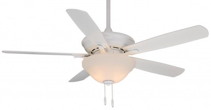 Snow White Lowes Ceiling Fans With Single Luxury Lamp For More Wonderful Ceiling Ideas