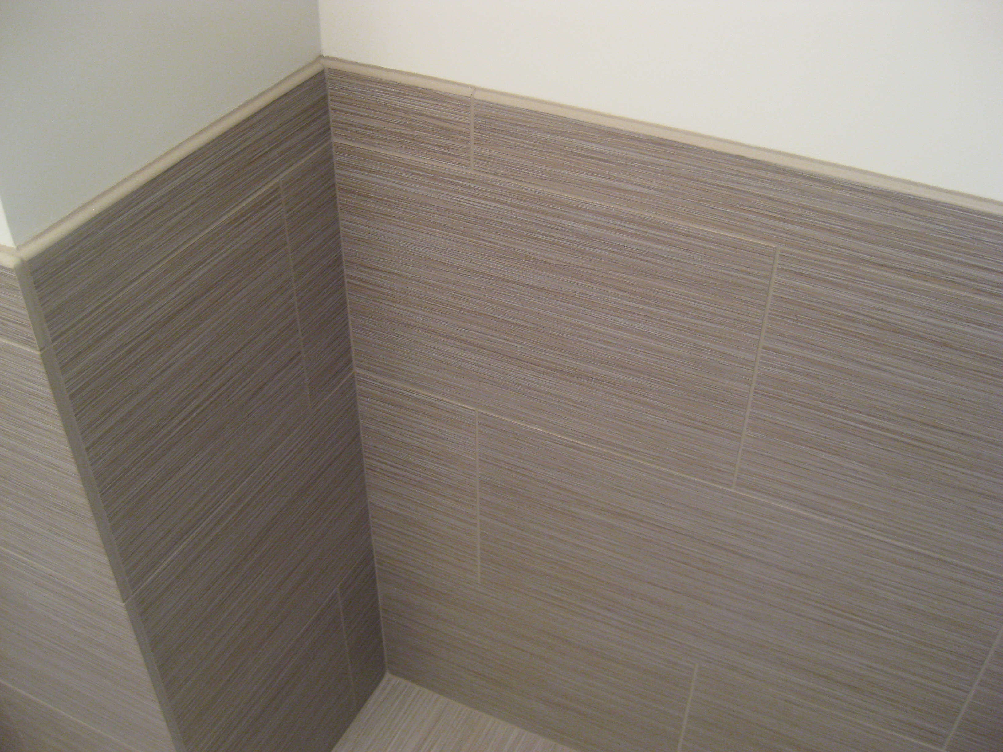 Square Baseboard Molding for restroom