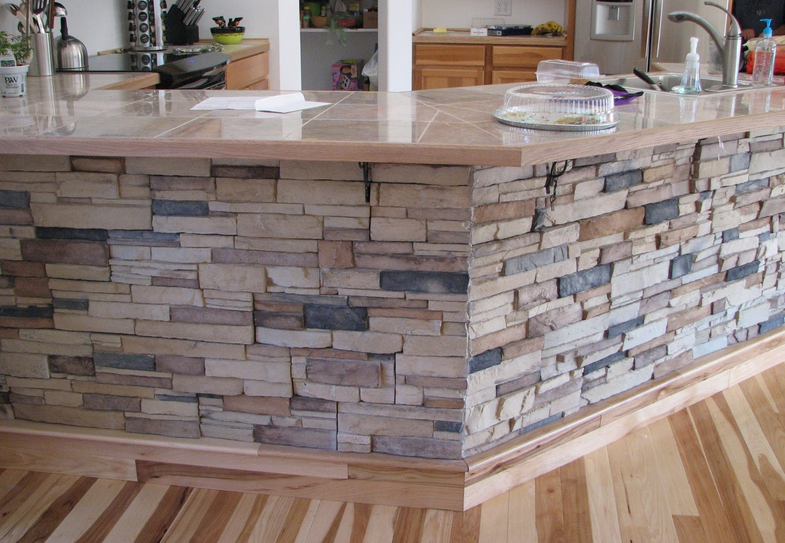stone veneer panels for ceramic kitchen table with wooden floor for kitchen ideas