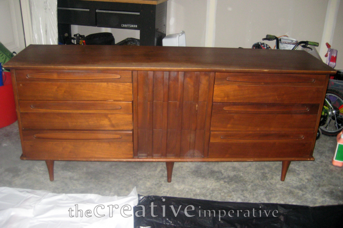 The Creative Imperative Refinished Mid Century Modern Dresser