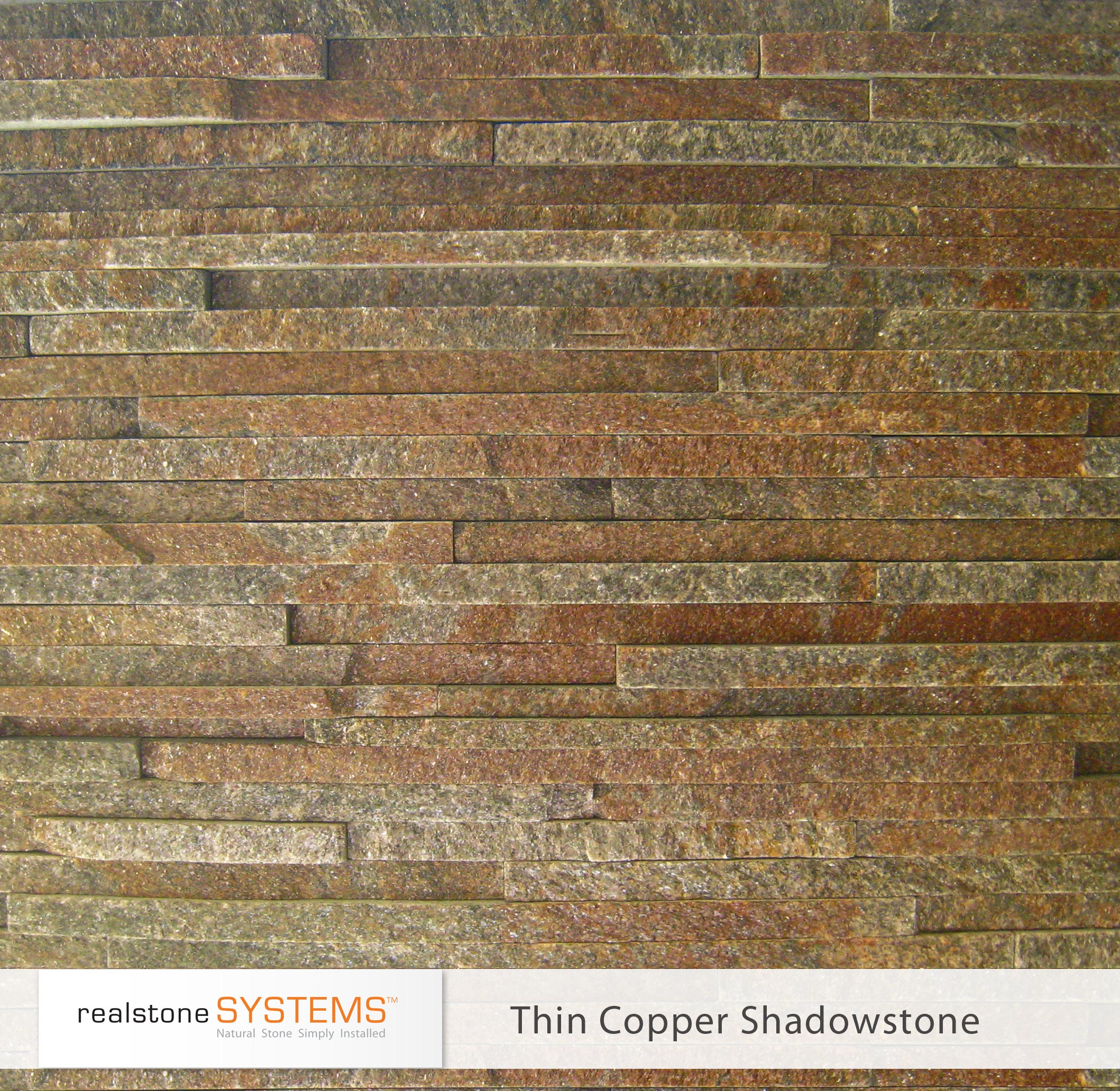 Thin Copper Shadowstone Thin stone Veneer panels for wall ideas