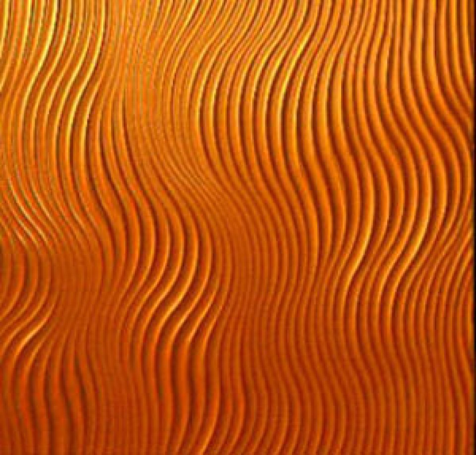 3D Textured Wall Panels in orange for more beautiful wall decor ideas