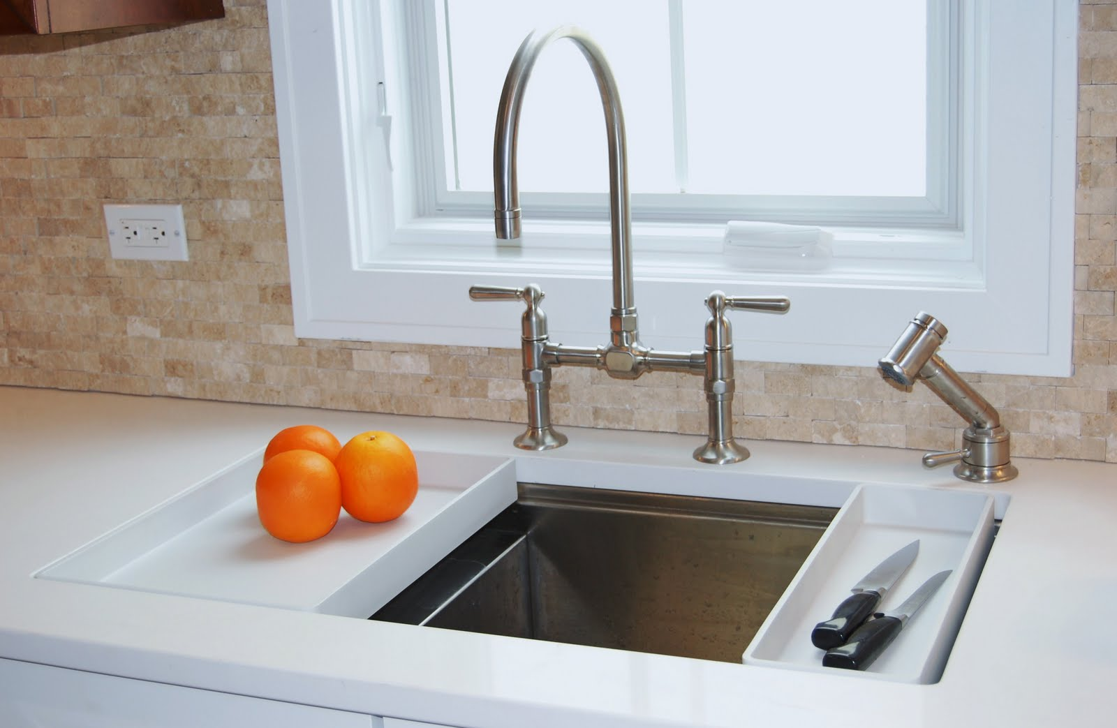 amazing kohler sinks with bridge faucet before the white window ideas