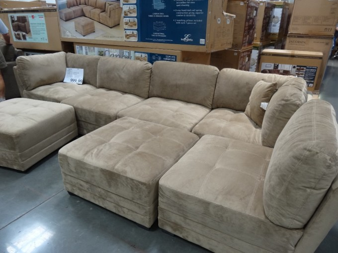 American Style Sectional Couches In Mocca For Inspiring Furniture Ideas