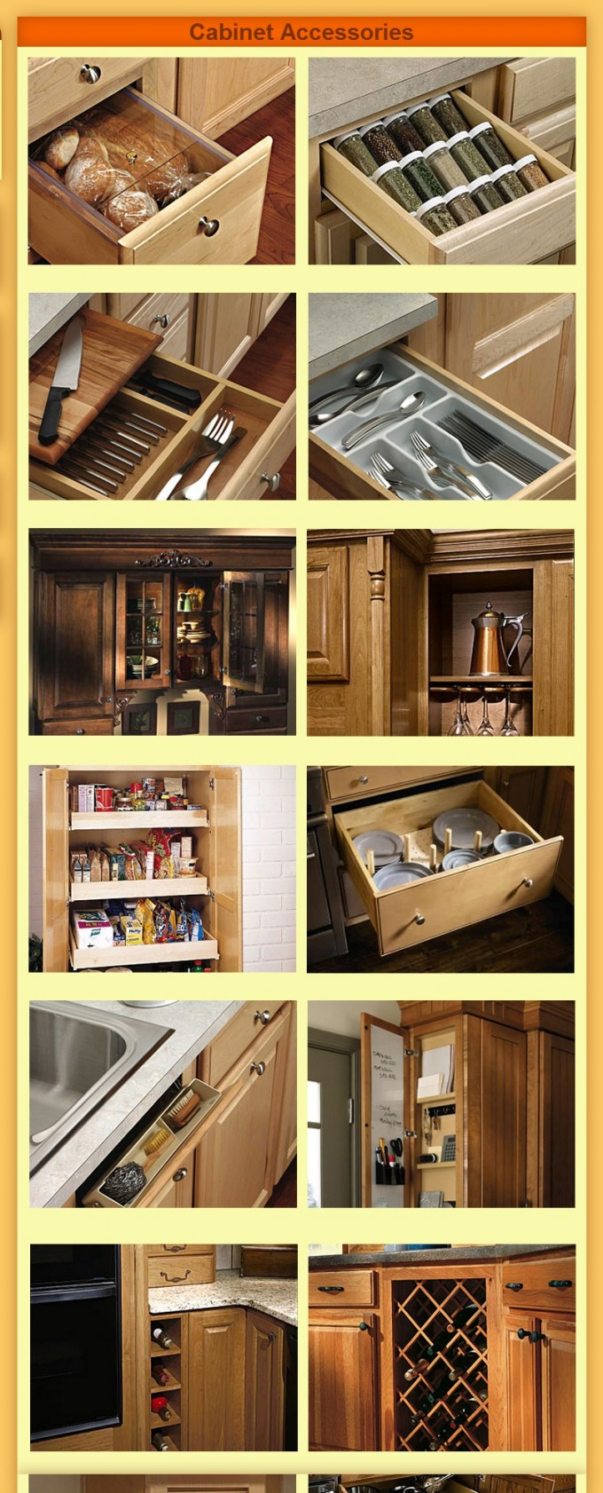 Aristokraft Cabinets Accessories