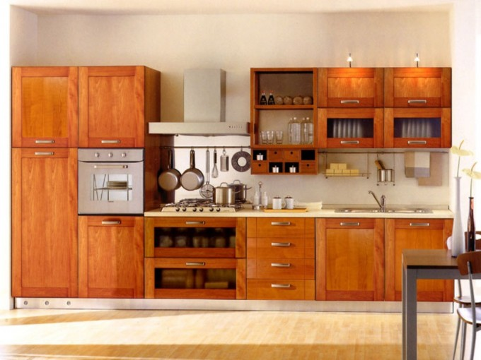 Astounding Thomasville Cabinets With White Countertop Plus Sink And Stove For Kitchen Furniture Ideas