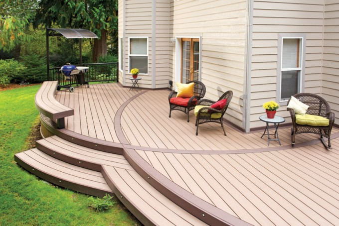 AZEK Decking Plus Chairs With Cushions For Deck Ideas