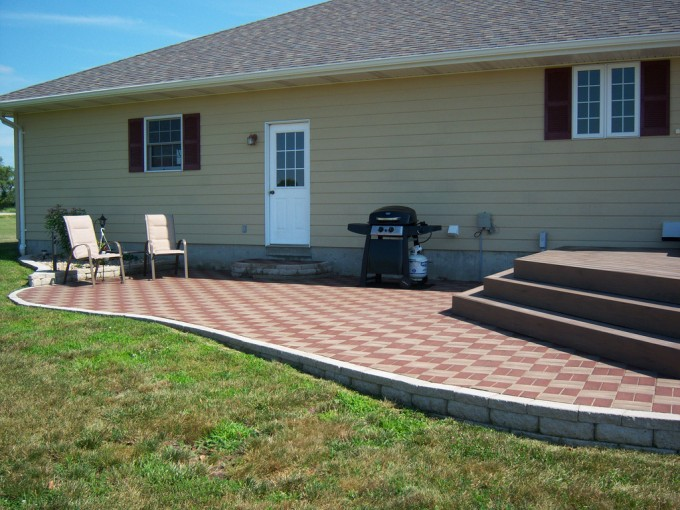 AZEK Pavers Plus Chairs For Patio Ideas