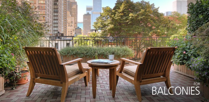 Azek Pavers With Wooden Chairs Plus Table For Patio Decor Ideas
