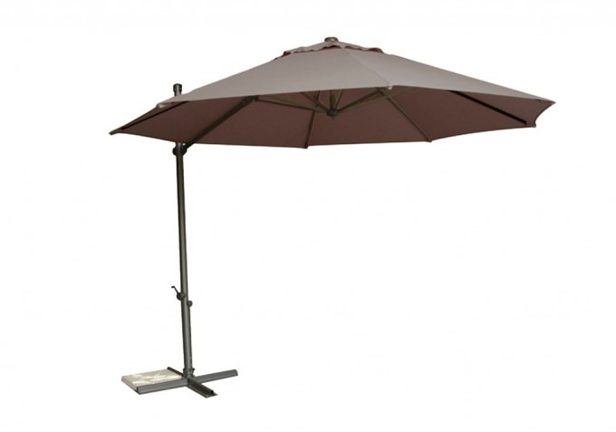 Barbeques Galore Products Byron 3 3 Cantilever Umbrella Toffee