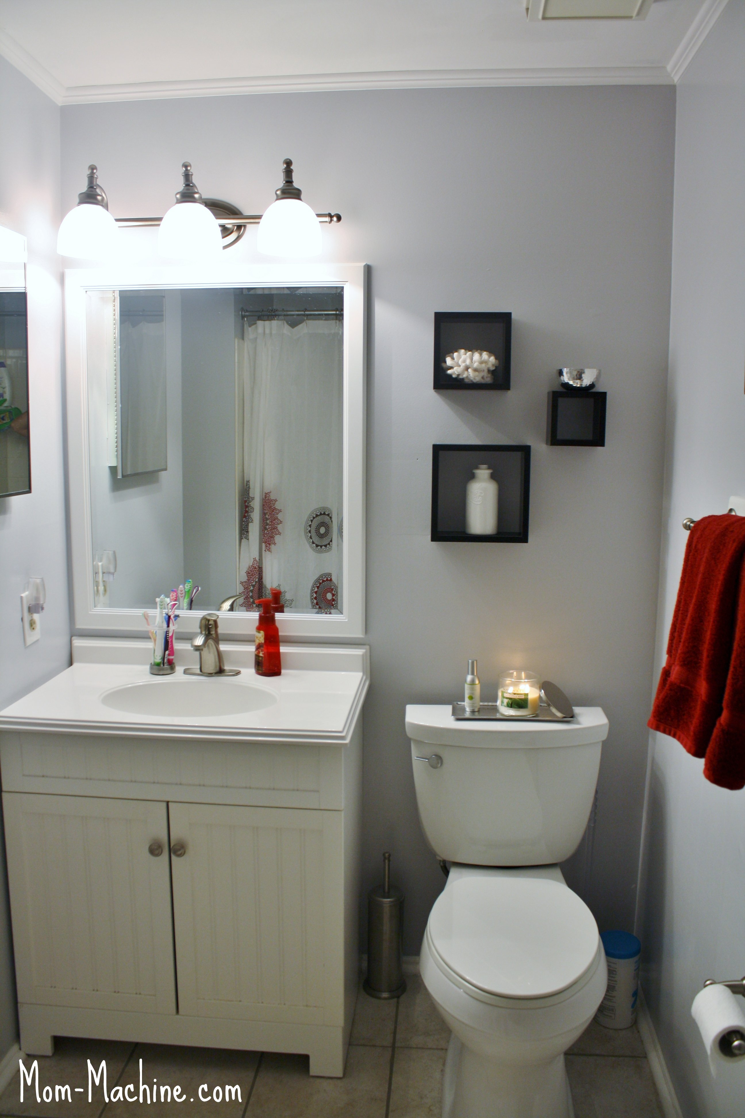 beautiful bathroom with amazing lowes bathroom lighting plus white sink and mirror ideas