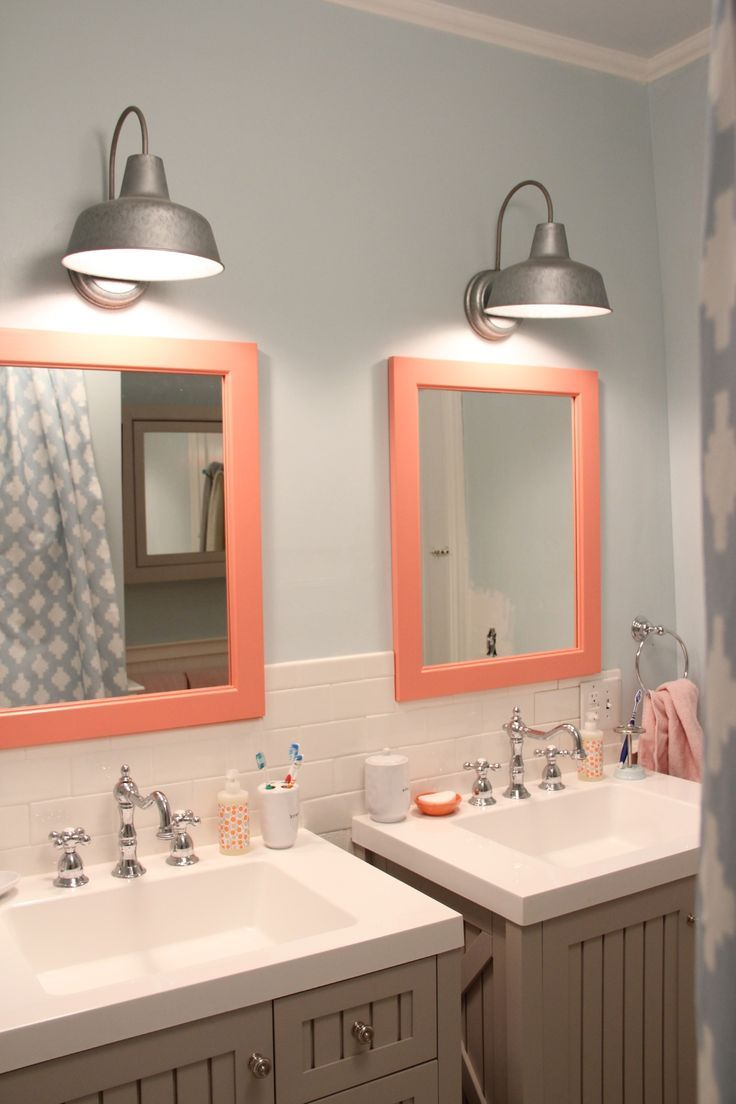 beautiful bathroom with lowes bathroom lighting plus double miror plus sink ideas