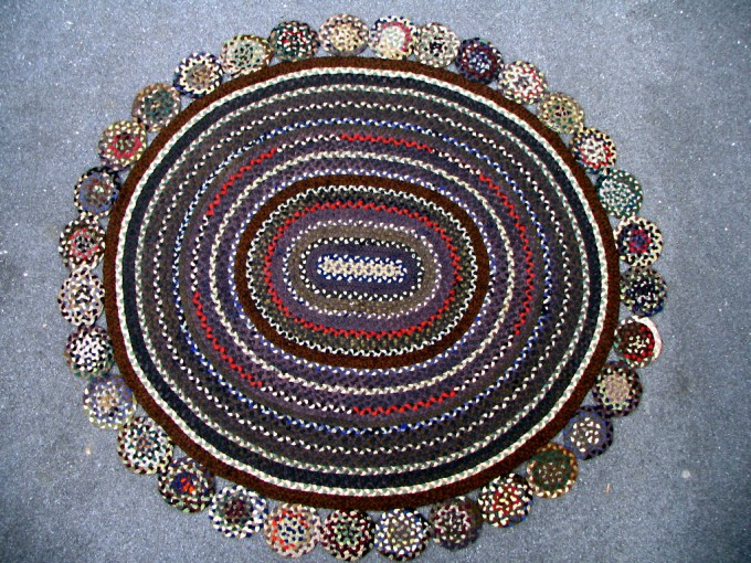 Beautiful Round Multicolor Braided Rugs For Charming Floor Decor Ideas