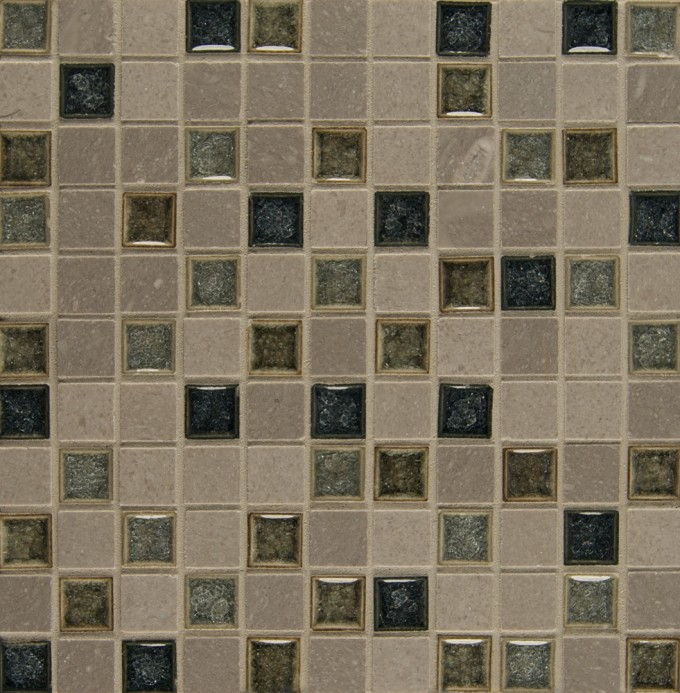 Bedrosians Kismet Stone And Crackle Glaze Blend Fate Mosaic For Wall Decor Ideas