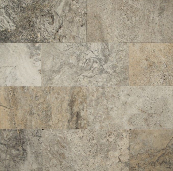 Bedrosians Travertine Tile Silver Mist 12 X 12 Natural Stone For Wall Decor Ideas
