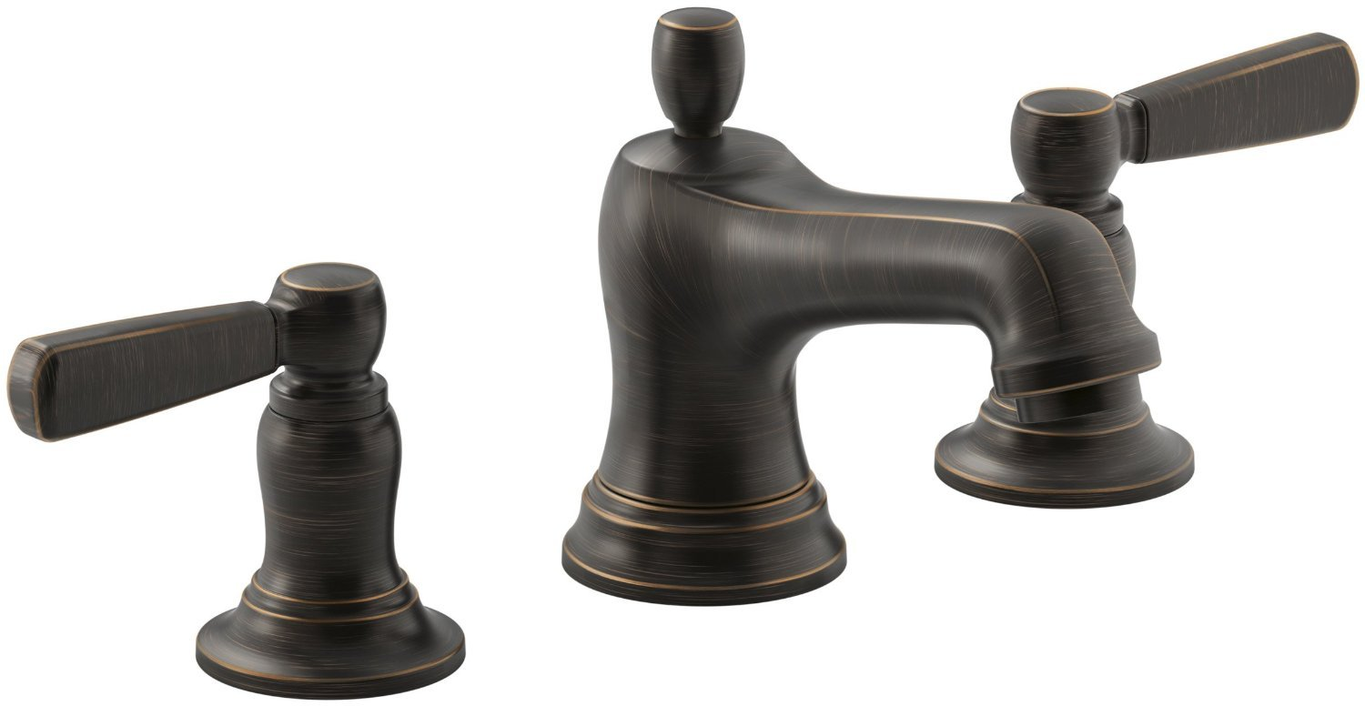 black Faucet Direct with double handle for bathroom furniture ideas