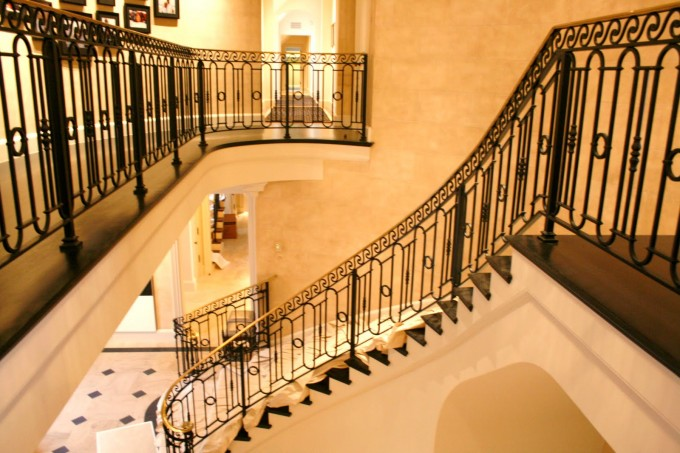 Black Handrails For Stairs In Amazing Design Ideas For Luxury Stairs Decor Ideas