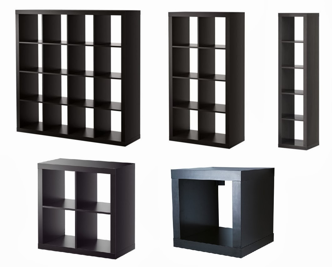 Furniture Black Ikea Expedit Bookcase With Some Sizes For Smart  # Meuble Tv Ikea Expedit Dimension