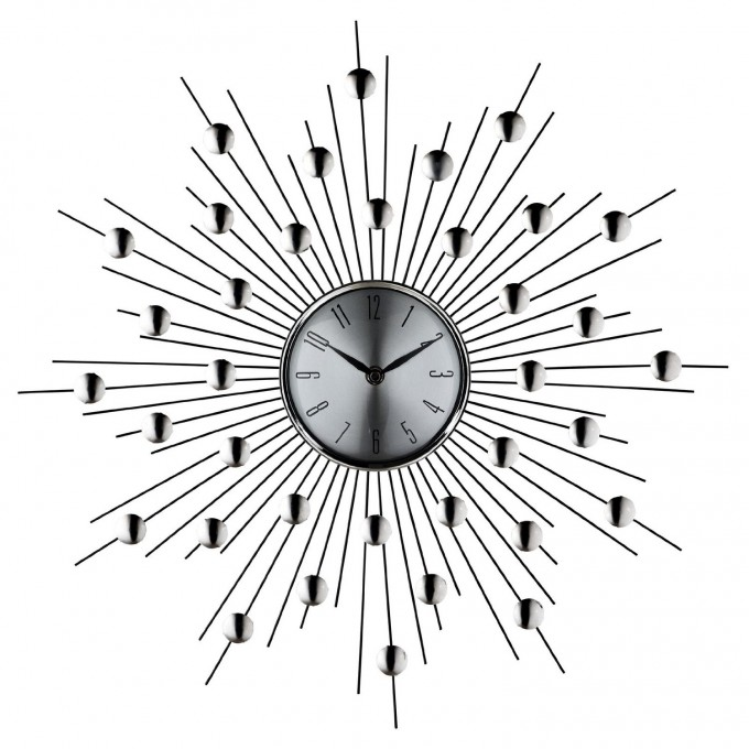 Black Starburst Wall Decor With Clock For Wall Decor Ideas