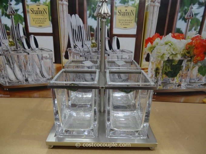 Charming Glass Utensil Caddy Ideas