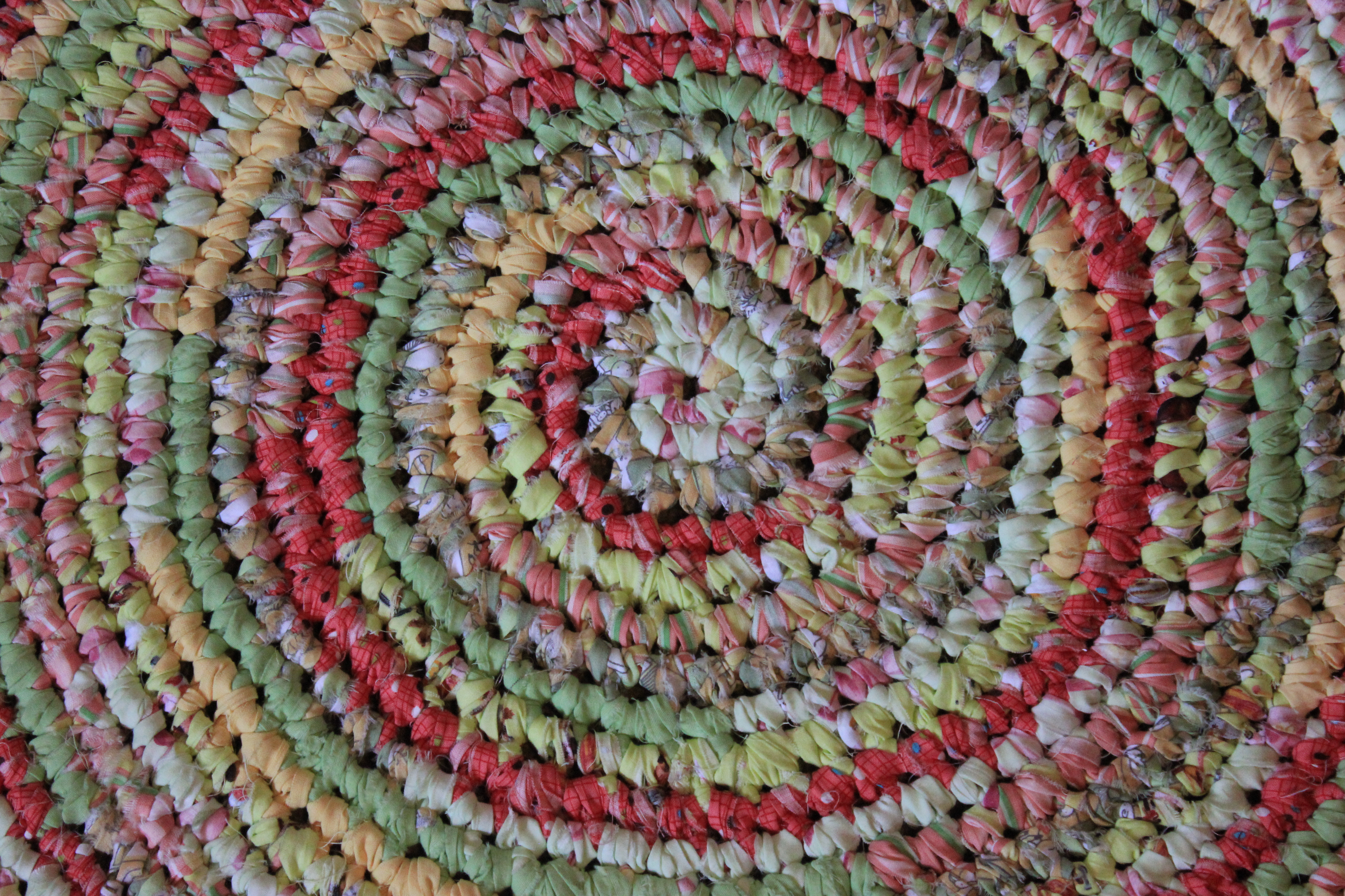 charming round multicolor braided rugs for floor decor ideas